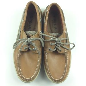 Sperry Leather Boat Shoes.